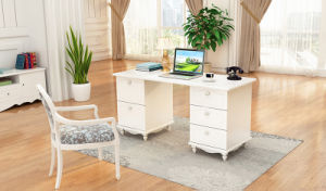 China Modern Wooden Study Table Living Room Used Computer Desk