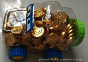 Bus Bottle Chocolate Gold Coin 2.2g pictures & photos