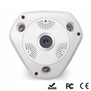 Wholesale ceiling Mount CCTV 360 Degrees Fisheye Security Surveillance 3MP 2MP HD IP WiFi Wireless Camera with 128g Recording 3D Vr Image 15 Days