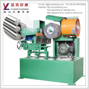 Automatic Centerless Round Pipe Grinding Machine for Aluminium Polishing
