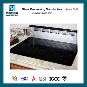 Black Glass Ceramic Cooktop with RoHS Certificate pictures & photos