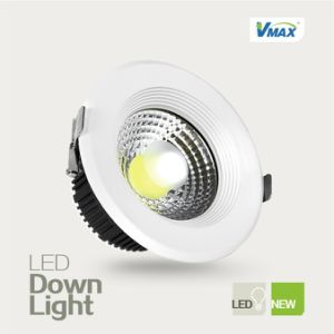 High Brightness 10W LED Downlight Recessed High CRI COB Light Source No UV Radiation pictures & photos