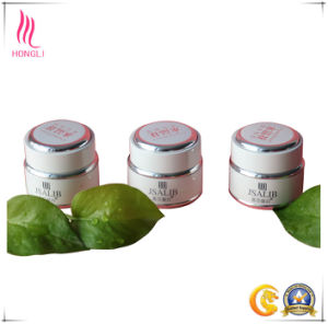 Non- Spill Milk White Logo Printed Cream Jar for Wholesale pictures & photos