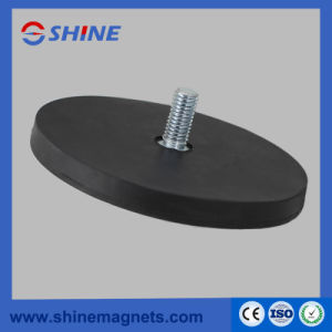 Standard Size (D22, D43, D66, D88) Strong Neodymium Pot Magnet with Thread Rod pictures & photos