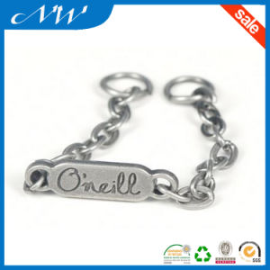 fashion Custom Metal Alloy Label with High Quality