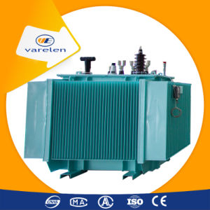 Oil Immersed Three Phase Distribution Electric Transformer
