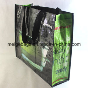 PP Woven Carrier Tote Bag, with Custom Size and Design pictures & photos