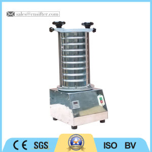 Laboratory Vibrating Screen for Sieving Micropowder Sample pictures & photos