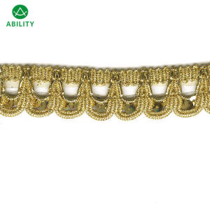 Hot Sell Design Gold Decorated Trimming