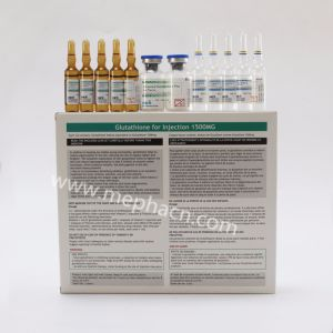 Pure Glutathione 1500mg/3000mg for Skin Whitening and Skin Care pictures & photos
