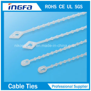 Ce ISO9001 Approved Nylon Zip Tie Stainless Steel Inlay pictures & photos
