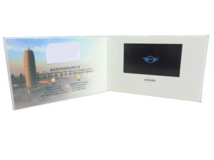 Custom LCD Video Invitation Card pictures & photos