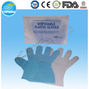 Disposable Transparent PE Gloves pictures & photos