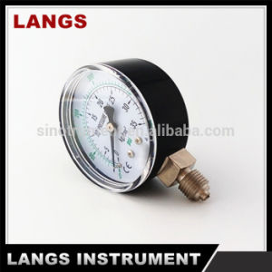 047 40mm, 50mm, 63mm Black Steel Bottom Manometer pictures & photos