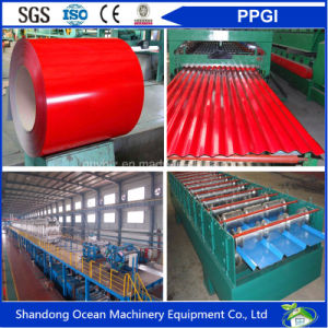 Prepainted Color Gi Steel Coil PPGI / Cgi Color Coated Galvanised Steel in Coil pictures & photos