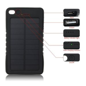 8000mAh Solar Panel Mobile Charger Batteries Pack Power Bank