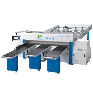 High Speed Computer Panel Saw Woodworking Machine