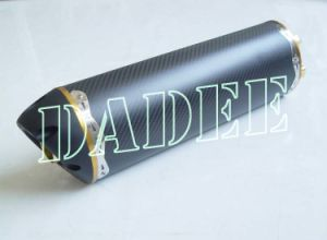 China Motorcycle Racing Parts Carbon Fibre Exhaust for