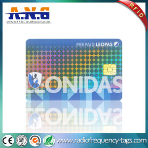 ISO/IEC 7816-3 Contact Card with Chip Issi24c02 pictures & photos