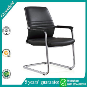 Black Leather Office Reception Room Chairs