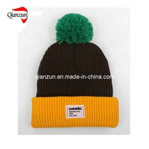 Fashion Custom Beanie Hats with Top Ball pictures & photos