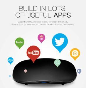 Hot! Android IPTV Smart Box ISDB 2018 Amlogic Quad Core TV Box