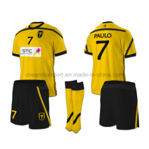 quality design a44a6 2c9dc Hot Sale Cheap Football Shirt Sublimation Soccer Shirt Custom Soccer  Jerseys Wholesale