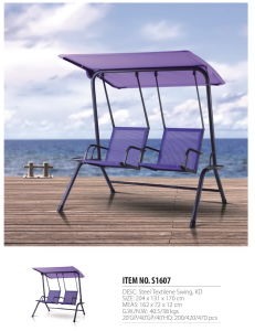 Morden Beach Swing Garden Swing Outdoor Lovers′ Swing