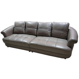 Outstanding I Shape 4 Seater Top Grain Genuine Leather Couch Sofa 8056 Uwap Interior Chair Design Uwaporg