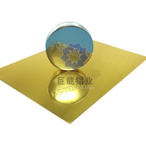 Titanic Gold Anodized Mirror Aluminium for Ceiling/ Decoration (A6600.23)