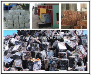 Hydraulic Iron Aluminum Copper Scrap Metal Baler (High Quality) pictures & photos