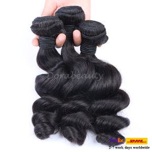 Factory Wholesale Remy Indian Hair, Hair Extension pictures & photos