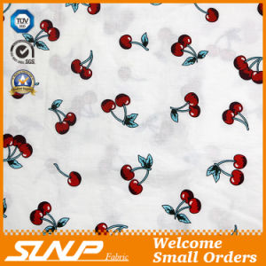 Cotton Yarn Dyed Dress Fabric with Printing
