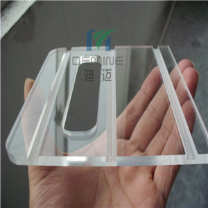 5mm Thick Acrylic Laser Cutting with Smooth Edge
