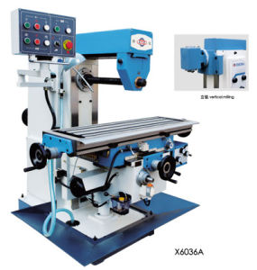 Universal Knee-Type Milling Machine X6036A X6036b pictures & photos