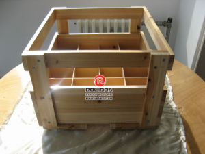 Wooden Boxes for Packing Wine of Bottle Package pictures & photos