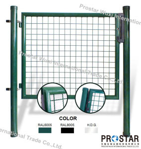 Fence Gate, Iron Gate, Garden Gate, Round Post Gate, Single Wing Gate, Double Wings Gate