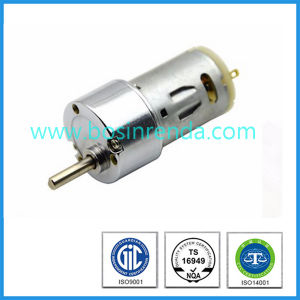 Low Noise High Torque and Quality 12V DC Motor Brush Motor pictures & photos