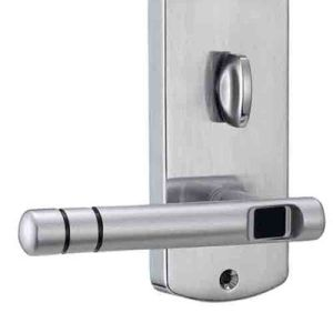 Electronic Keyless Hotel Door Lock with RFID Card Plated in Gold and Silver pictures & photos