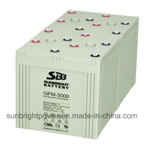 Deep Cycle 2V3000ah High Quality Lead Acid Telecom Battery pictures & photos