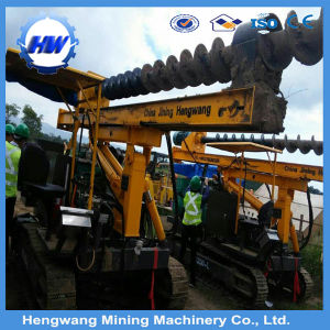 Hydraulic Pile Driver Used in Photovoltaic Engineering Construction pictures & photos