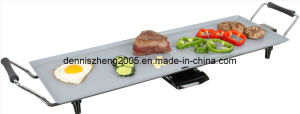 Ceramic Coated Electric Griddle, with Big Grill Surface 70X23.5cm, Power 1800watts