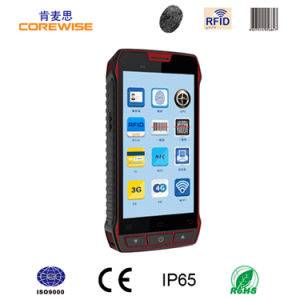 5 Inch Android 6.0 Rugged Handheld Contactless RFID Tag NFC Reader