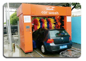 Super Pass (SUPER, THRU) Nine Brush Tunnel Full Automatic Car Washer pictures & photos