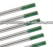 High Quality Green Tip Pure Tungsten Electrode pictures & photos
