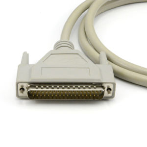 Db 37pin D-SUB Serial 37p Male to Male Cable Molded or Assembly