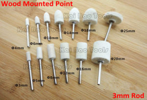 Wool Mounted Points 3mm Rod pictures & photos