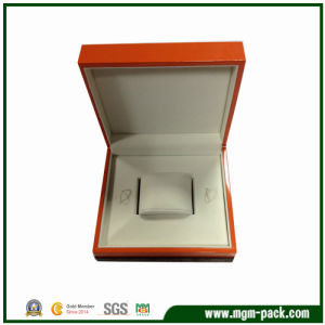 High Glossy Finishing Orange Luxury Wooden Watch Box pictures & photos