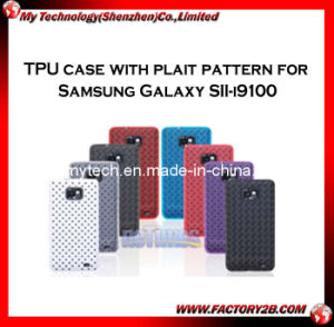 TPU Case With Plain Pattern for Samsung Galaxy Sii-I9100