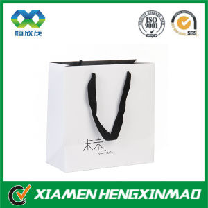 China Manufacturer Custom White Paper Bag